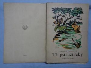 náhled knihy - Tři pstruží řeky a jiné causerie
