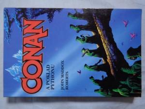 náhled knihy - Conan a poklad Pythonu