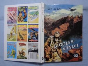 náhled knihy - Biggles v Indii