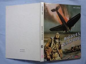 náhled knihy - Biggles na stopě