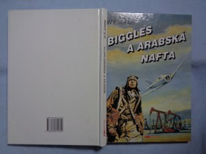 náhled knihy - Biggles a arabská nafta