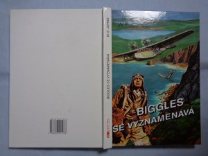 náhled knihy - Biggles se vyznamenává