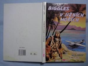 náhled knihy - Biggles v jižních mořích