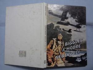 náhled knihy - Biggles a modré nebezpečí