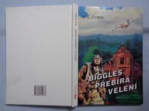 náhled knihy - Biggles přebírá velení