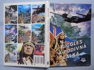 náhled knihy - Biggles a podivná válka