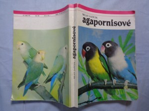 náhled knihy - Agapornisové