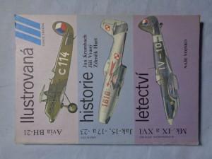 náhled knihy - Ilustrovaná historie letectví : Avia BH-21, Jak-15,-17 a -23, Mk. IX a XVI
