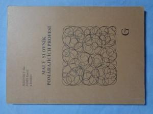 náhled knihy - Malý slovník pomáhajících profesí