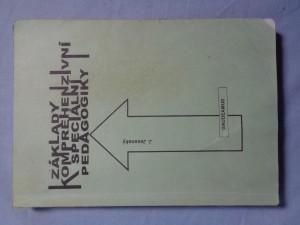 náhled knihy - Základy komprehenzivní speciální pedagogiky