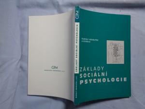 náhled knihy - Základy sociální psychologie