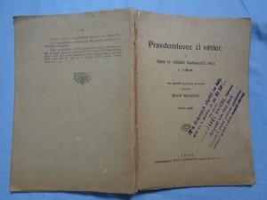 náhled knihy - Storchův Pravdomluvec či věštec a čtení či věštění budoucích věcí z rukou