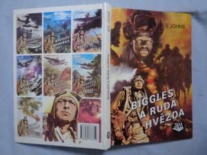 náhled knihy - Biggles a rudá hvězda