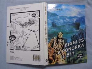 náhled knihy - Biggles a ponorka U-517