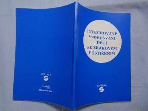 náhled knihy - Integrované vzdělávání dětí se zrakovým postižením