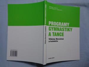 náhled knihy - Programy gymnastiky a tance