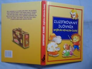 náhled knihy - Ilustrovaný slovník anglicko-německo-český