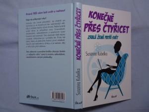náhled knihy - Konečně přes čtyřicet : zralé ženě patří svět