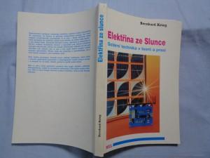 náhled knihy - Elektřina ze Slunce: fotovoltaika v teorii a praxi