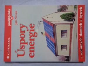 náhled knihy - Úspory energie v rodinných domech a bytech