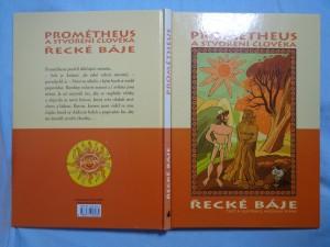 náhled knihy - Prométheus a stvoření člověka: řecké báje