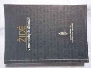 náhled knihy - Židé v novodobých dějinách: soubor přednášek na FF UK : seminář východoevropských dějin při Ústavu světových dějin FF UK v Praze
