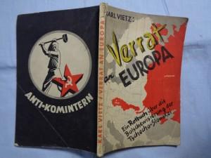 náhled knihy - Verrat an Europa: ein Rotbuch über die Bolschewisierung der Tschecho-Slowakei