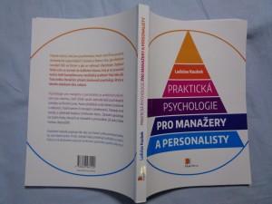 náhled knihy - Praktická psychologie pro manažery a personalisty
