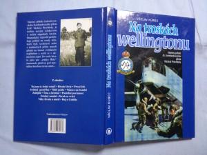 náhled knihy - Na troskách wellingtonu: válečný příběh československého bombardovacího pilota Václava Procházky