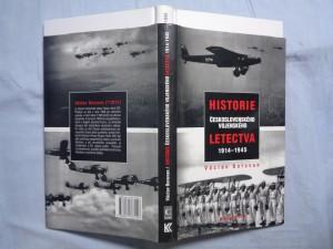náhled knihy - Historie československého vojenského letectva 1914-1945