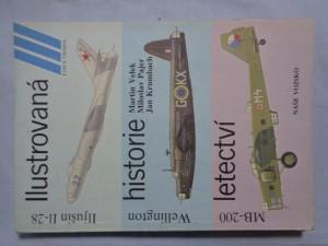 náhled knihy - Ilustrovaná historie letectví : Iljušin I1-28, Vickers Wellington, Marcel Bloch MB-200