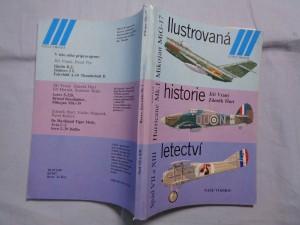 náhled knihy - Ilustrovaná historie letectví: Mikojan MiG-17; Hawker Hurricane Mk. I; Spad S VII