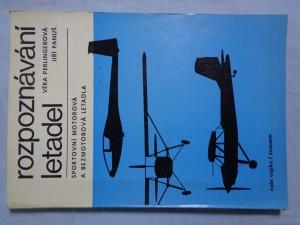 náhled knihy - Rozpoznávání letadel: sportovní motorová a bezmotorová letadla