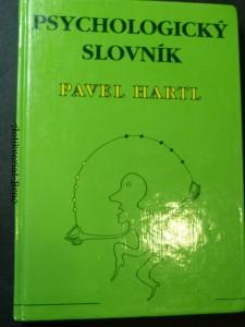 náhled knihy - Psychologický slovník