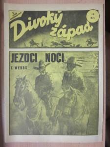 náhled knihy - Divoký západ : Jezdci noci