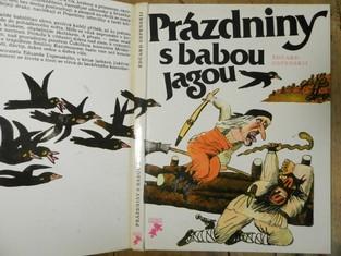 náhled knihy - Prázdniny s babou Jagou : Pro děti od 8 let