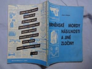 náhled knihy - Brněnské mordy, násilnosti a jiné zločiny