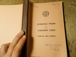 náhled knihy - Ochranná pásma a chráněná území, doslovné znění předpisu