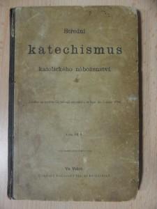 náhled knihy - Střední katechismus katolického náboženství