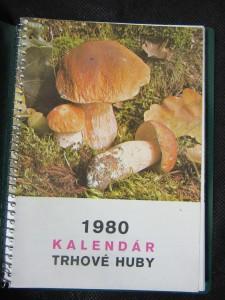náhled knihy - 1980 Kalendár trhové huby