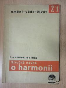 náhled knihy - Stručná nauka o harmonii : příklady a úlohy