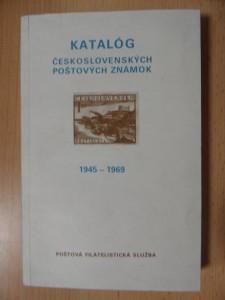náhled knihy - Katalóg československých poštových známok 1945-1988. 1. diel, 1945-1969