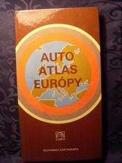 náhled knihy - Auto atlas Európy