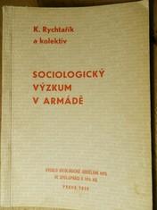 náhled knihy - sociologický výzkum v armádě