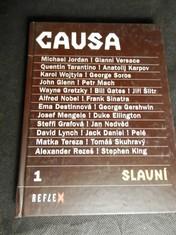 náhled knihy - Causa slavní : Michael Jordan, Gianni Versace, Quentin Tarantino (...). 1