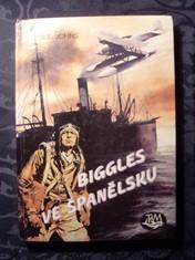náhled knihy - Biggles ve Španělsku