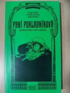 náhled knihy - Paní pokladníková : Román pro paní a dívky