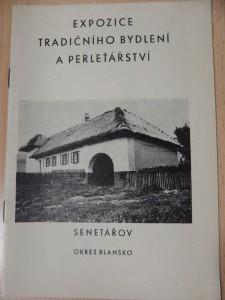 náhled knihy - Katalog expozice tradičního bydlení a perleťářství v Senetářově, okres Blansko