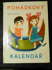 náhled knihy - Pohádkový kalendář