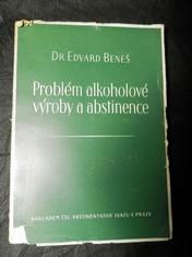 náhled knihy - Problém alkoholové výroby a abstinence
